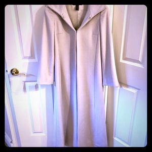 Banana Republic wool blend long coat